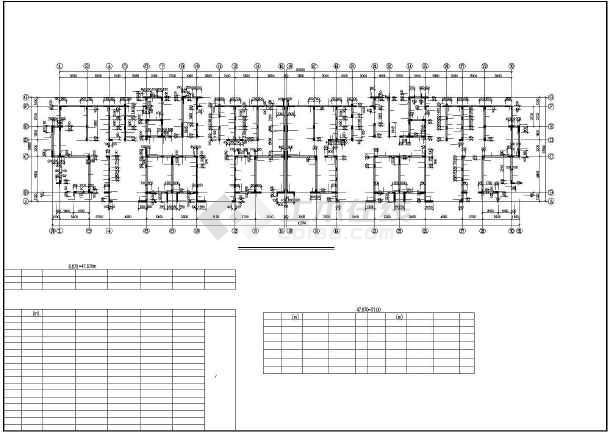 某高层混凝土剪力墙结构设计图-图3
