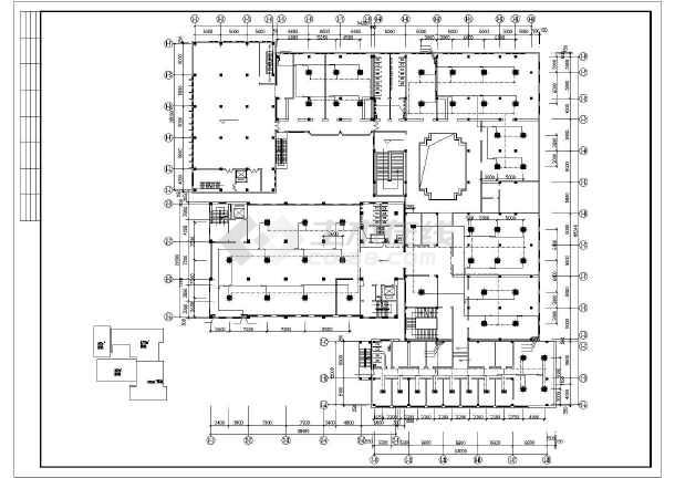 石家庄市图书馆暖通空调设计CAD施工图-图2