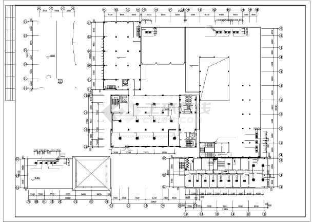 石家庄市图书馆暖通空调设计CAD施工图-图3