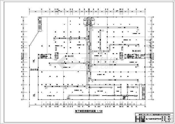 一整套住宅小区暖通空调cad设计施工图纸-图二