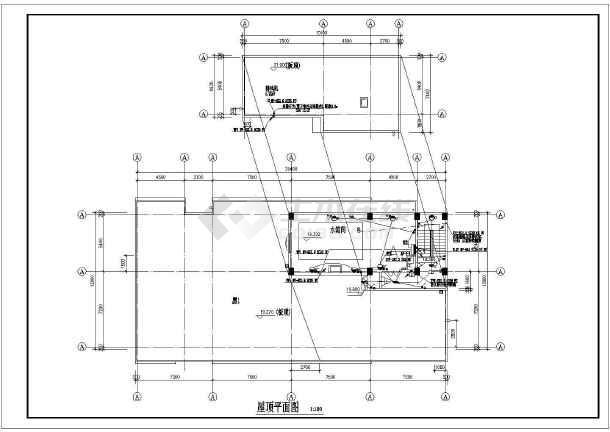 点击查看某职工宿舍楼强弱电全套图纸(含综合布线、电视电话系统)第1张大图