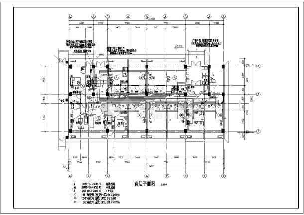 某职工宿舍楼强弱电全套图纸(含综合布线、电视电话系统)-图二