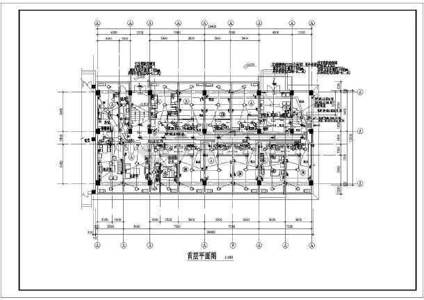 某职工宿舍楼强弱电全套图纸(含综合布线、电视电话系统)-图2