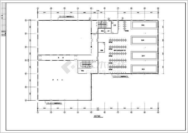 某地区居住楼建筑施工图(共11张)-图一