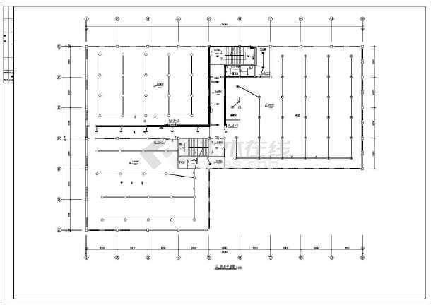 某地区居住楼建筑施工图(共11张)-图二