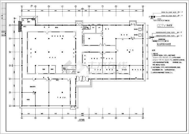 某地区居住楼建筑施工图(共11张)-图3