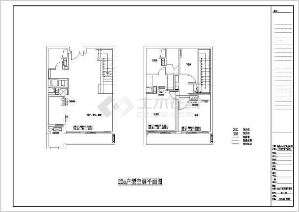 某小区大金家用中央空调图纸-图3