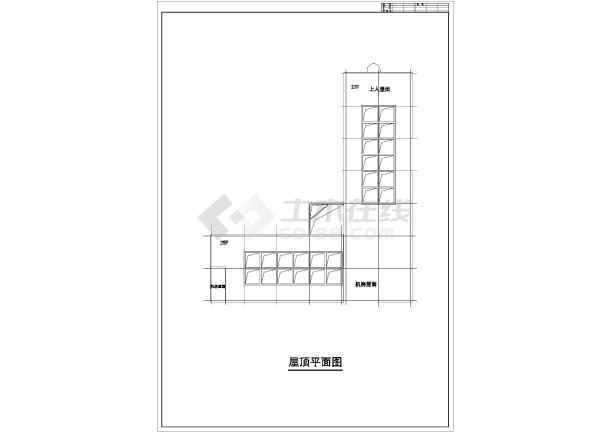 某地高层综合商业建筑设计图-图3