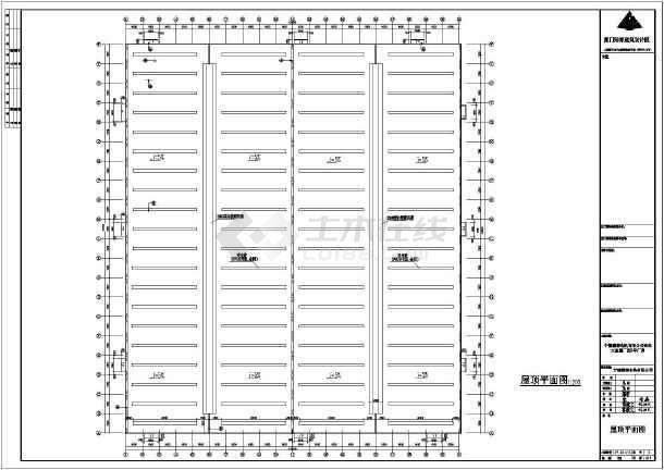 某地电机建筑工程结构CAD图-图1