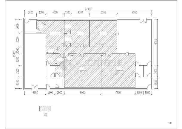 净化工程平面布置图-图3