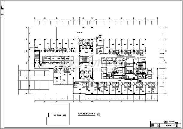 某医院产房暖通空调图纸-图一
