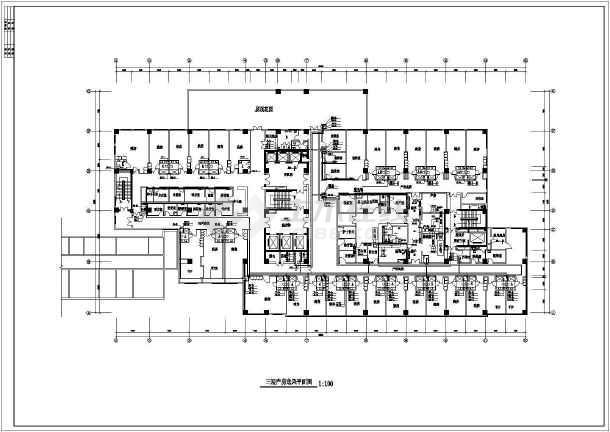 某医院产房暖通空调图纸-图1