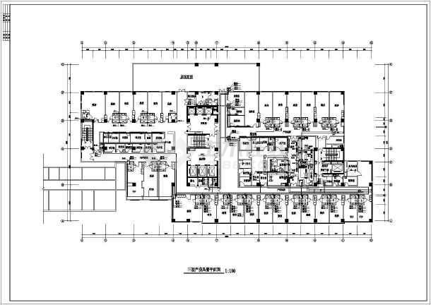 某医院产房暖通空调图纸-图2