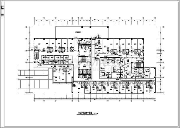 某医院产房暖通空调图纸-图3