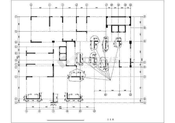 某混凝土置换结构设计图-图2