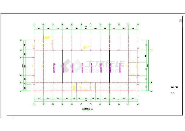 AG镇高行村文化礼堂建筑工程--结构-图1