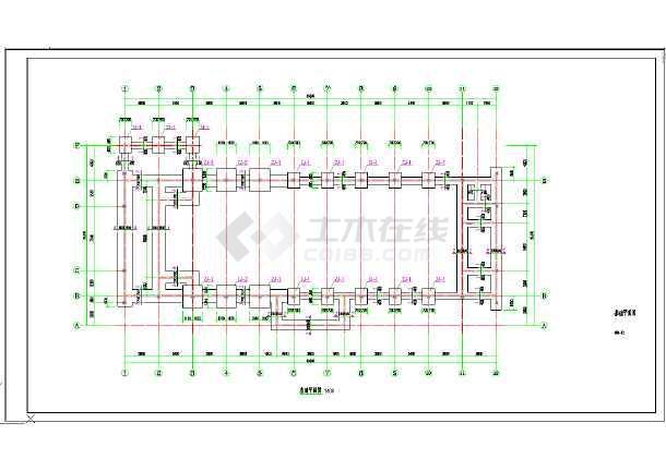AG镇高行村文化礼堂建筑工程--结构-图3