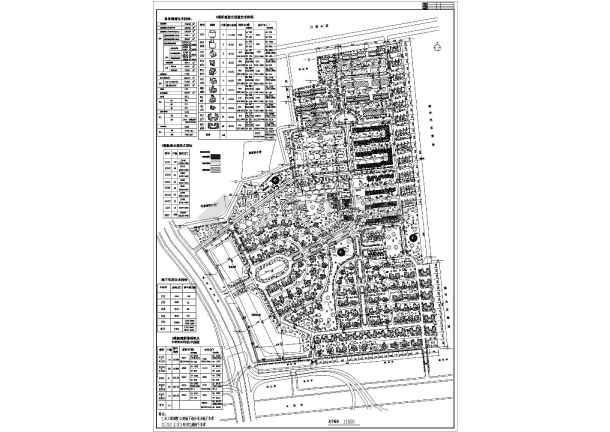 圆明园花园小区规划总图-图1