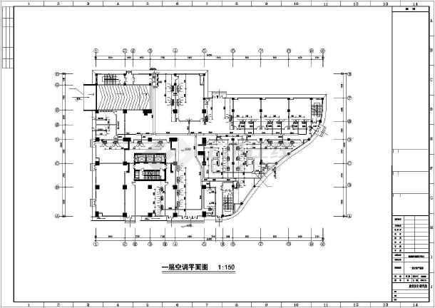 某地地源热泵暖通空调设计图纸-图2