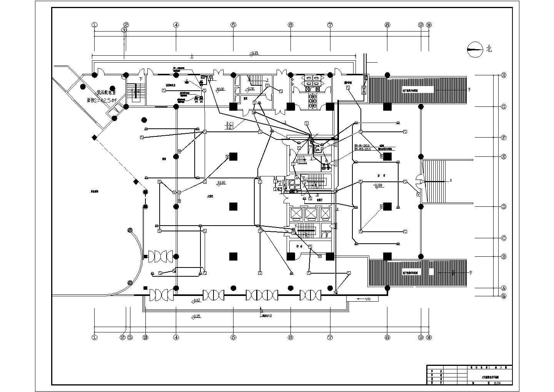 某五星级酒店电气施工图图片3