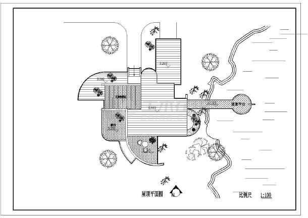 某地村镇康居住宅设计建筑图-图2