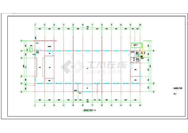 AG镇高行村文化礼堂建筑工程--给排水-图1