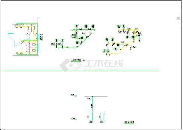 AG镇高行村文化礼堂建筑工程--给排水-图2