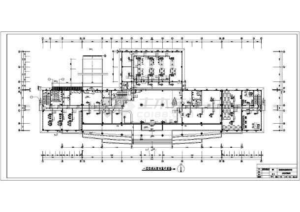某地某办公楼地源热泵空调暖通设计图-图2
