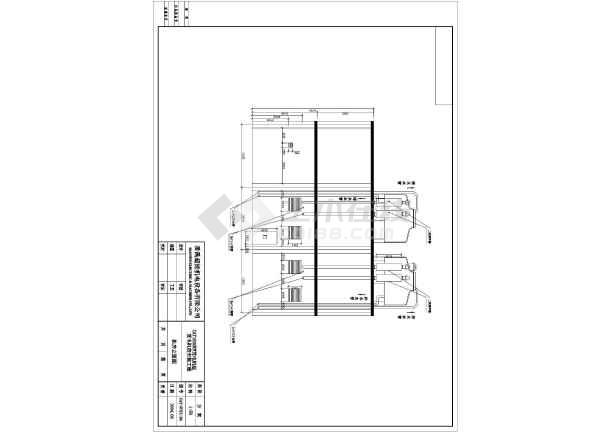 某市两台1600KW发电机环保安装工程详细设计图纸-图3