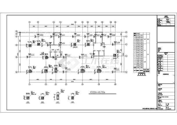 十六层框剪结构住宅楼结构施工图-图1