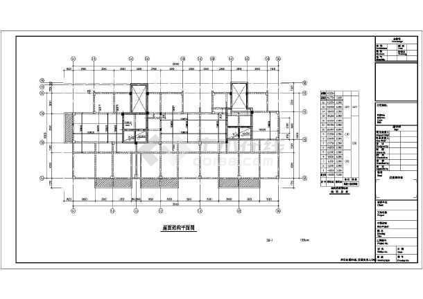 十六层框剪结构住宅楼结构施工图-图2