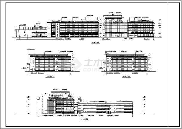 某大型生活小区住宅建筑设计CAD施工图及总图-图3