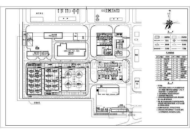 某炼油厂新建装置平面布置图-图二