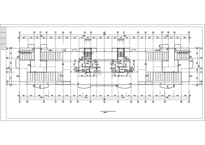 某公司开发休息小区住宅楼图纸图片2