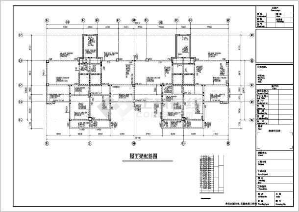 十七层框剪结构住宅楼结构施工图-图1