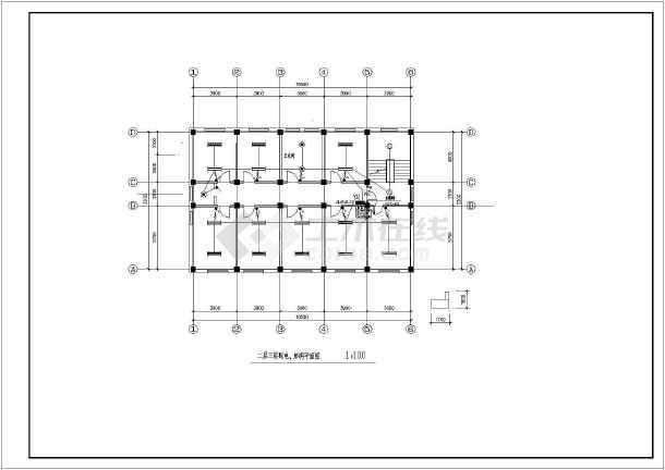 办公楼电气设计方案施工图(含设计说明)-图3