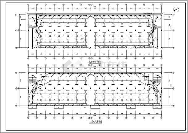 办公楼电气设计方案施工图(含电气设计说明)-图3