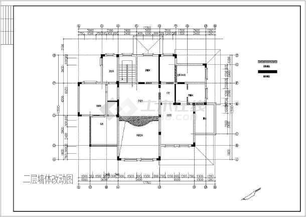 某欧式别墅整套设计装修图纸-图3