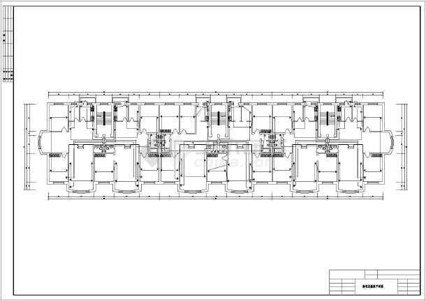 一整套别墅室内电气设计方案cad图-图1