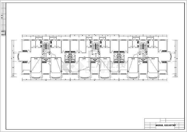 一整套别墅室内电气设计方案cad图-图2