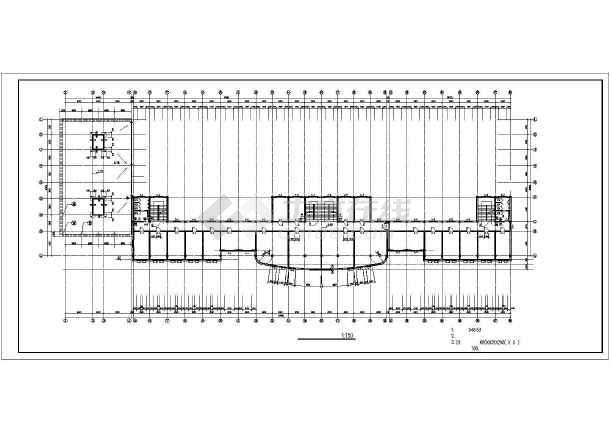 某商业综合楼建筑设计施工图-图1