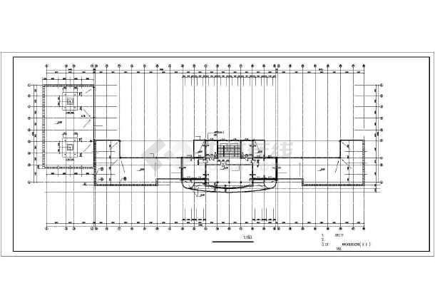 某商业综合楼建筑设计施工图-图2