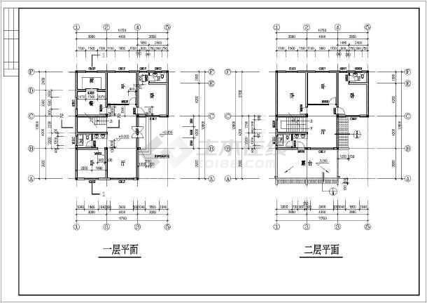 乡村别墅建筑设计方案图-图2