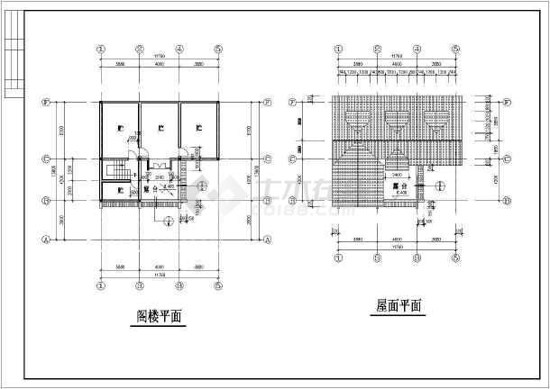 乡村别墅建筑设计方案图-图3