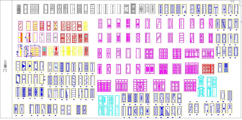 常用CAD素材图库(实用好用)图片1
