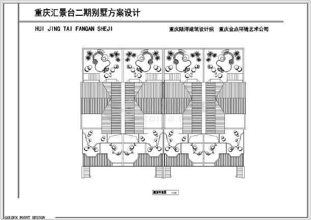 270平米别墅建筑设计施工图-图3