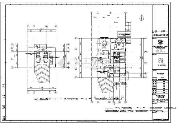 地中海风情平房型别墅建筑方案图-图2