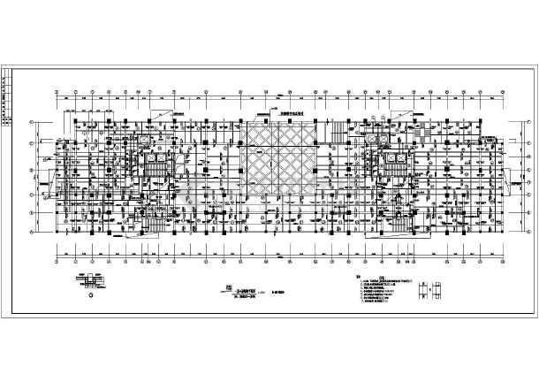 某地高层商住楼建筑结构图-图2
