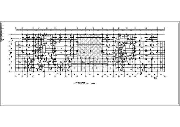 某地高层商住楼建筑结构图-图3