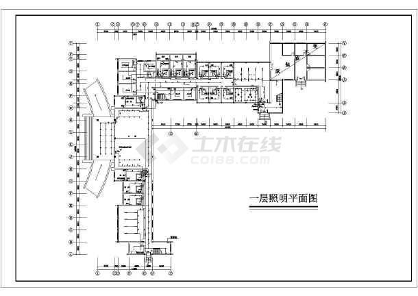 某综合楼电力施工图(含电气设计说明)-图2